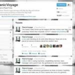 Untergang der Titanic auf Twitter nachlesen