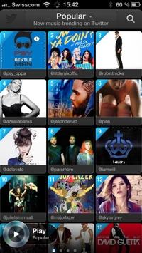 Twitter Music App 1 Small