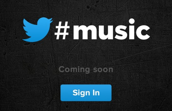 Twitter Music Coming Soon