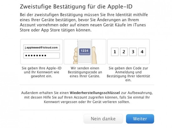 Apple Zwei-Faktor-Login-1