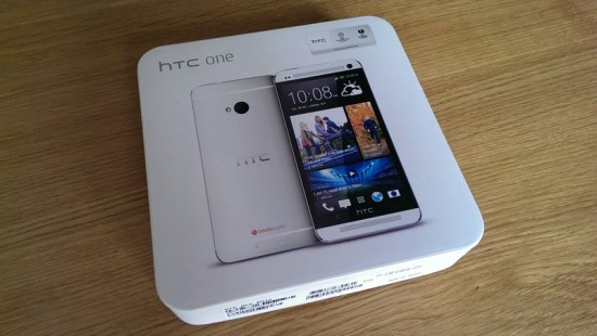 HTC One Boxed