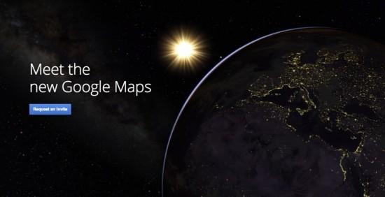 New Google Maps 2013