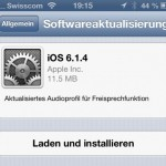 Apple veröffentlicht iOS 6.1.4 – Download Links
