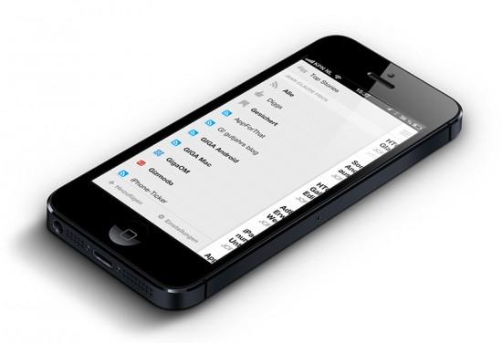Digg on iPhone 5