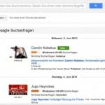 Google Trends nun auch für Deutschland verfügbar