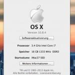 Apple veröffentlicht OS X 10.8.4