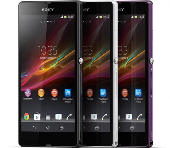 Sony Xperia Z Smartphones