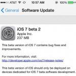 Apple veröffentlicht iOS 7 Beta 2: Auch für iPads