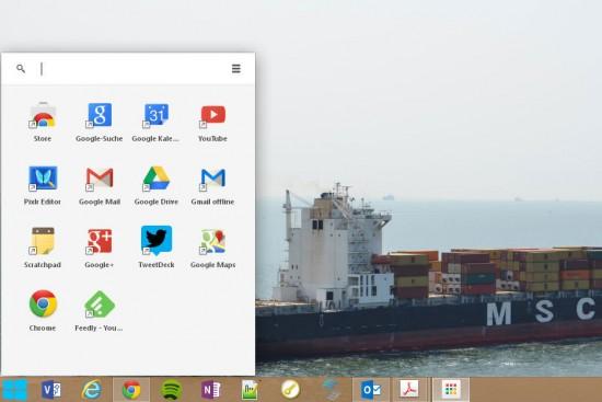 Chrome Web launcher for Windows