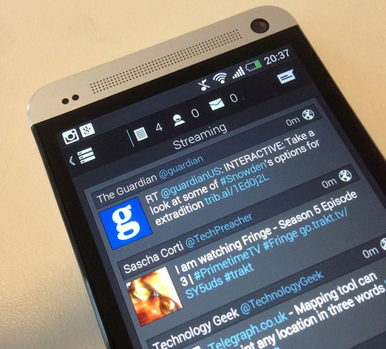 Falcon Pro on HTC One