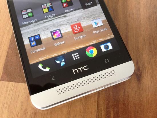 HTC One unten