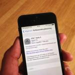 Apple veröffentlicht iOS 7 Beta 3