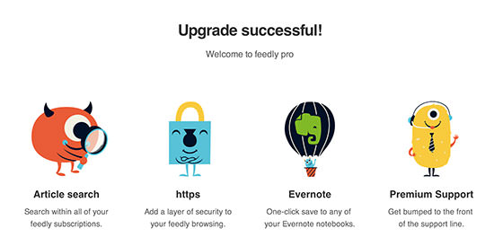 Feedly Pro Accounts Detail