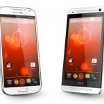 Android 4.3 für Galaxy S4 und HTC One Google Edition erhältlich