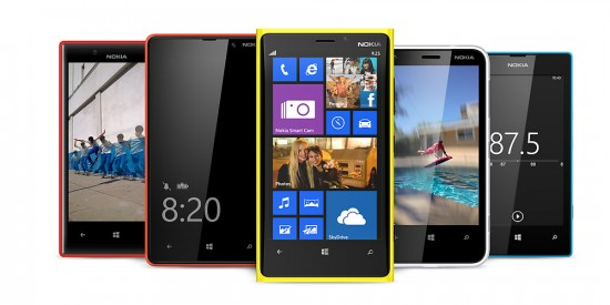 Nokia Lumia Windows Phone 8 Smartphones