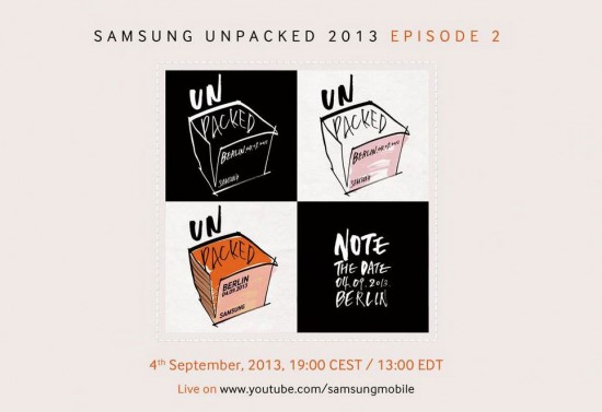 Samsung Galaxy Note 3 Unpacked Event
