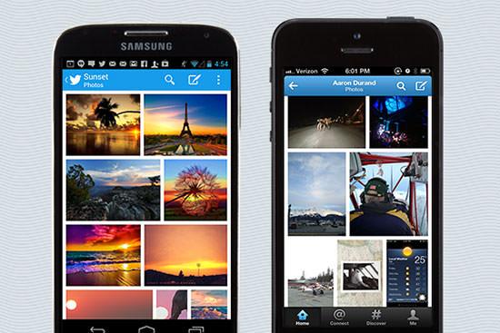 Twitter App Foto Gallery