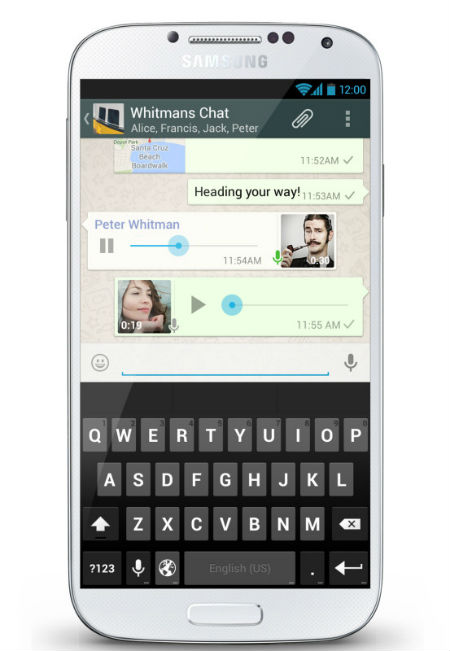 Whats App Push To Talk