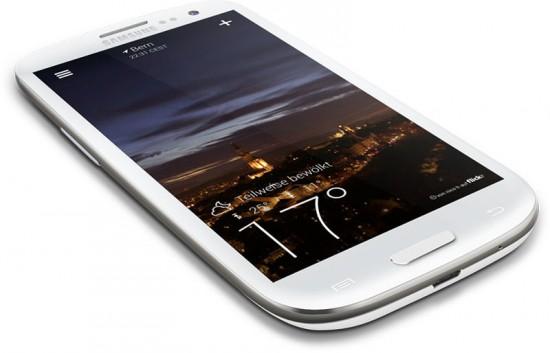 Yahoo Wetter App für Android