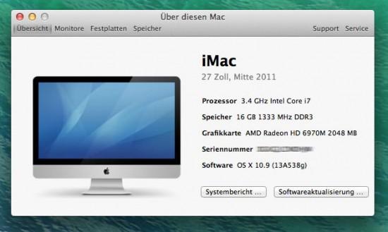 "iMac 27"" AMD Radeon 6970M Grafikkarte"