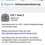 Apple veröffentlicht iOS 7 Beta 5 – Das ist neu