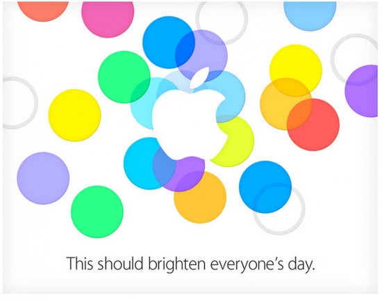 Apple Event Einladung 10. September