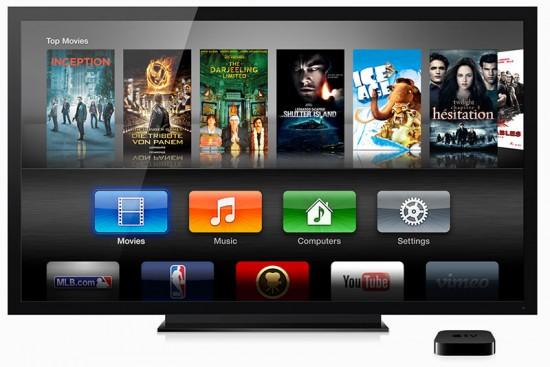 Apple TV iOS 7 GUI