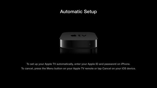 Apple TV Setup with iOS 7