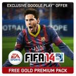 FIFA 14 Gold Premium Edition für Android gerade kostenlos
