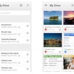 Google Drive für iOS bekommt neuen Look und neue Funktionen