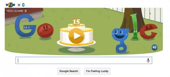 Google Doodle Geburtstag