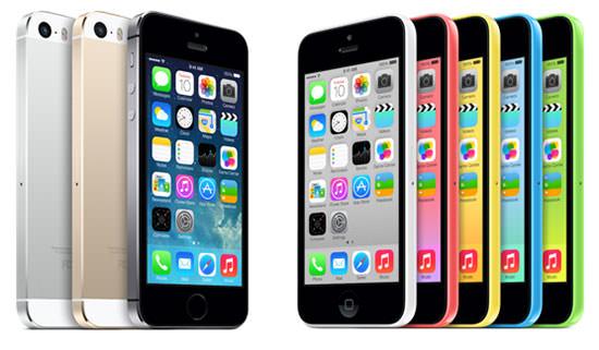 iPhone 5S und iPhone 5C