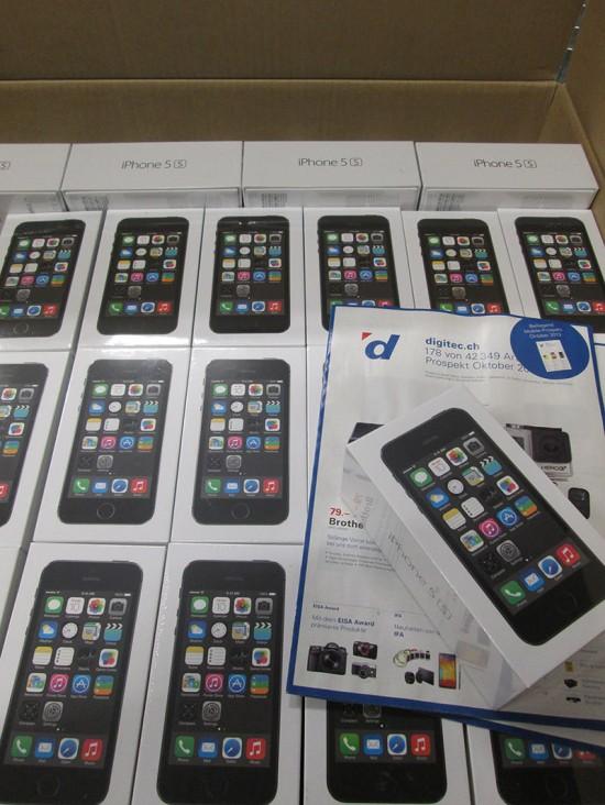 iPhone 5s & iPhone 5C bei Digitec AG
