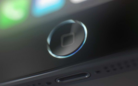iPhone 5S Homebutton Mockup