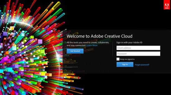 Adobe Creative Cloud Login