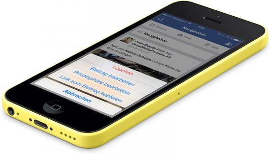 Facebook iOS App Update