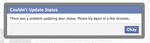 Facebook Issue