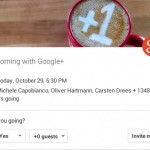 Google streamt heutiges Google+ Event live