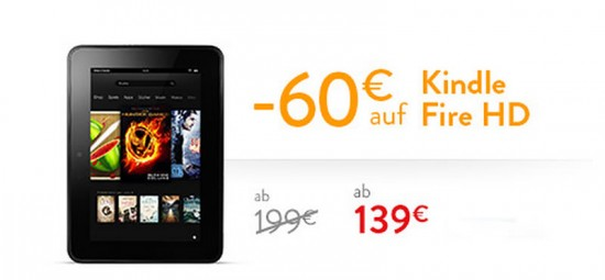 Kindle Fire HD Aktion