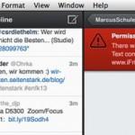 Twitter: Links können derzeit nicht per Direktnachricht verschickt werden