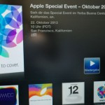 Apple streamt heutiges iPad-Event auf Apple TV