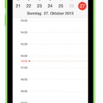 iOS 7 hat Probleme mit der Winterzeit