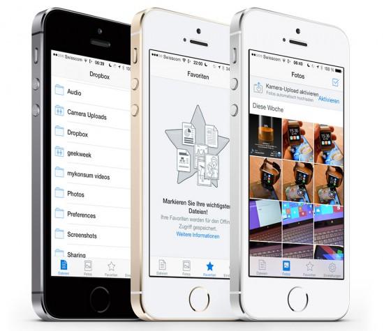 Dropbox 3 für iOS 7