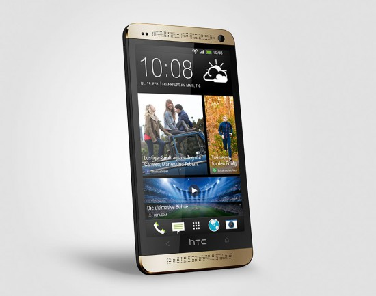 HTC One Gold Front