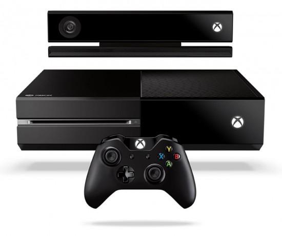 Microsoft Xbox One mit Kinect Kamera