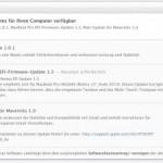 Apple veröffentlich Mavericks-Update gegen Gmail Probleme