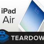 iPad Air auseinander genommen: Viel Technik auf kleinem Raum
