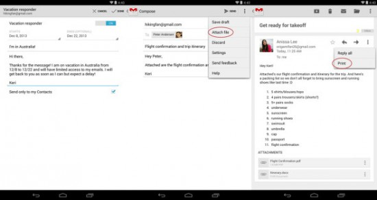 Gmail for Android 4.7