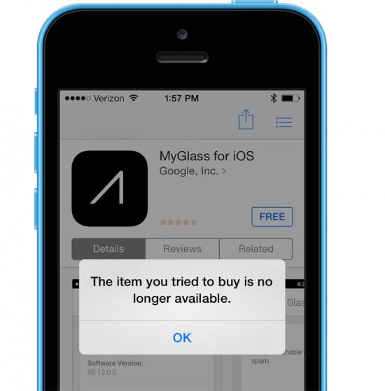 My Glass App for iOS