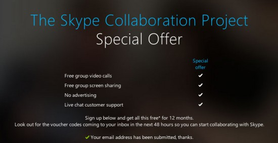 Skype-Collaboration-Free-Group-Calls